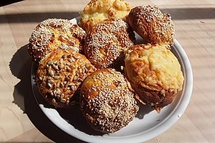 Glutenfreie Frühstücksbrötchen 10