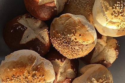 Glutenfreie Frühstücksbrötchen 17
