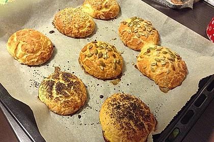 Glutenfreie Frühstücksbrötchen 4