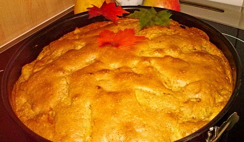 Schneller Brauner Apfelkuchen Ohne Butter Von Mity Chefkoch De