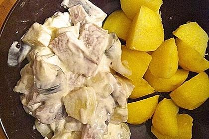 Matjesfilets mit Bratkartoffeln 2