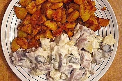 Matjesfilets mit Bratkartoffeln 1
