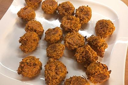 Vegane Quinoa-Kürbis-Bälle 1
