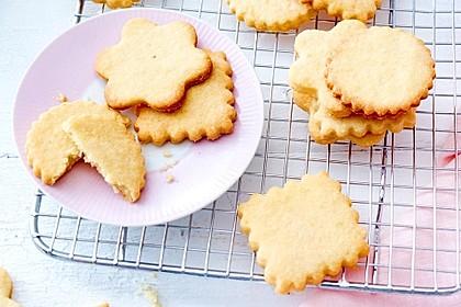 Butter-Vanille-Kekse (Bild)