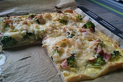 Pizza à la Hollandaise 3