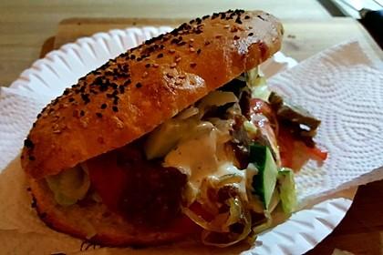Döner Kebab im Fladenbrot 1
