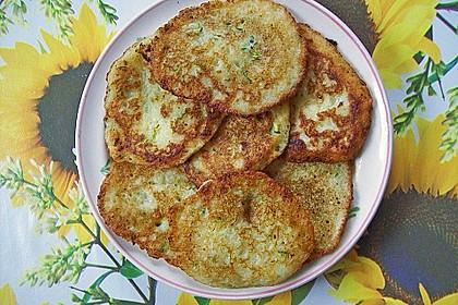 Zucchini-Kartoffelpuffer (Reibekuchen) 4