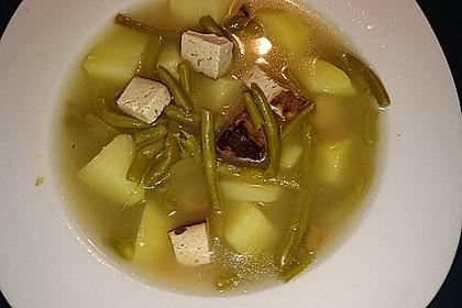 Omas Bohnen-Kartoffeleintopf mit Räuchertofu 3