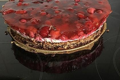 Himbeer-Nuss-Kuchen 7