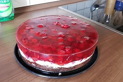 Himbeer-Nuss-Kuchen 1