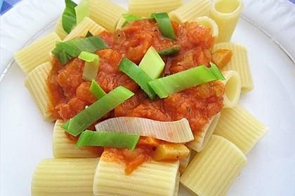 Tortiglioni mit Gemüse 2