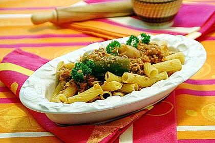 Tortiglioni mit Gemüse 1