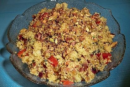 Couscous-Salat mit Aprikosen und Pistazien 1