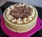 Omas Marzipantorte mit Nutella und Buttercreme (Bild)