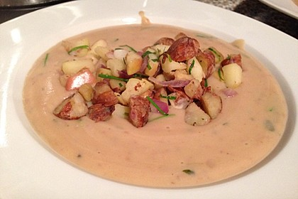 Maronen-Kartoffel-Suppe