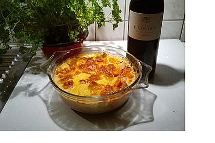 Süßkartoffel-Kohlrabi-Gratin 3