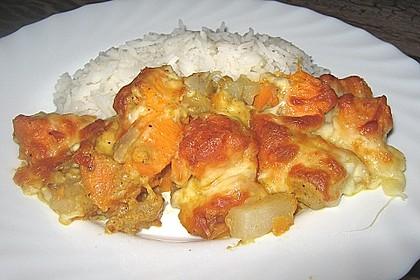 Süßkartoffel-Kohlrabi-Gratin 2