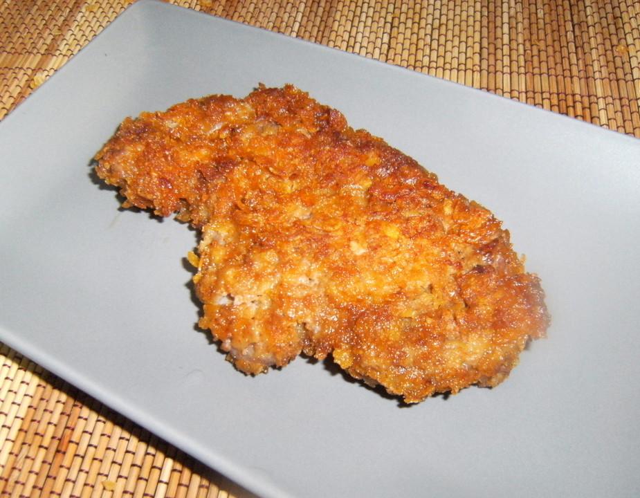 Schnitzel Mit Cornflakes Panade Von Jakob77 Chefkoch