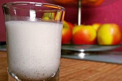 Cremige low carb Mandelmilch 1