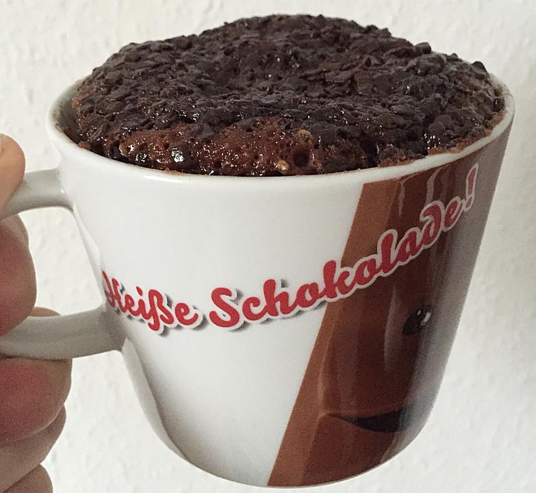 Schneller Schokoladen Nutella Tassenkuchen Von Sarahjaninaxx