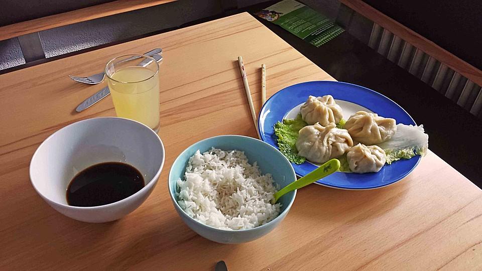 Dumplings Aus Dem Dampfgarer Von Tami08 Chefkoch De