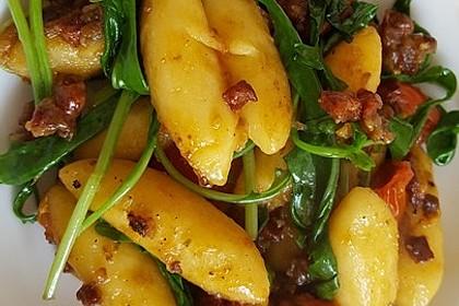 Gnocchi-Pfanne mit Rucola