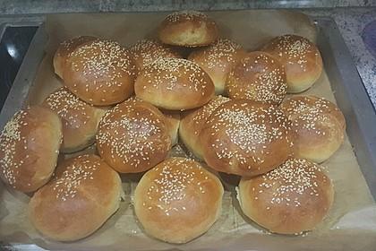 Die perfekten Hamburgerbrötchen 6