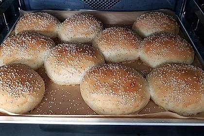 Die perfekten Hamburgerbrötchen