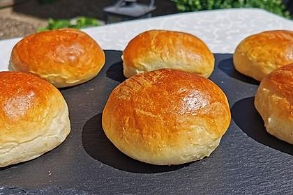 Die perfekten Hamburgerbrötchen (Bild)