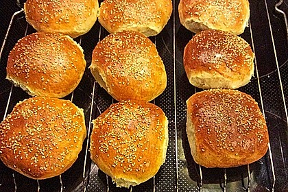 Die perfekten Hamburgerbrötchen 16
