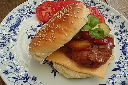 Die perfekten Hamburgerbrötchen 12