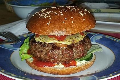 Die perfekten Hamburgerbrötchen 11