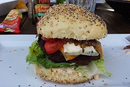 Die perfekten Hamburgerbrötchen 17