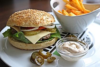 Die perfekten Hamburgerbrötchen 2