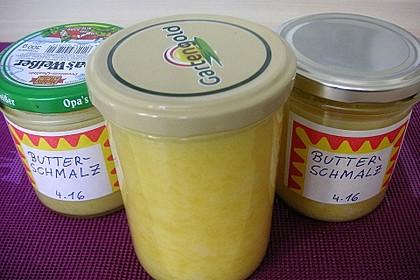 Butterschmalz oder Ghee selbst gemacht, Backofenmethode 5