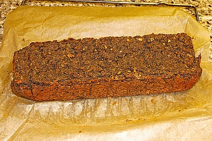 Veganer Linsenbraten oder Linsenaufschnitt als Brotbelag