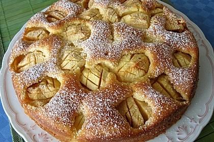 Apfelkuchen, sehr fein