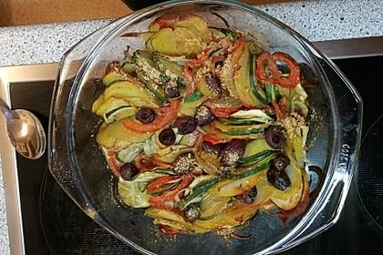Zucchini-Tomaten Gratin 1