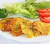 Kartoffelrösti ohne Ei und Mehl (Bild)