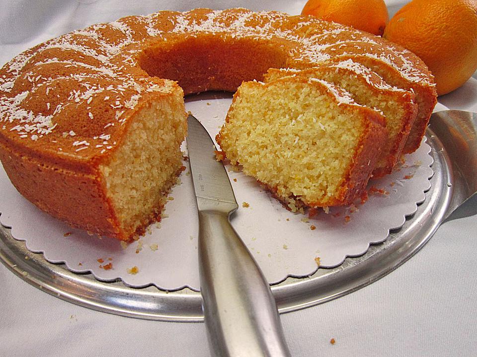 Creme Fraiche Orangen Kuchen Von Trekneb Chefkoch De