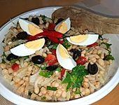 Türkischer Bohnensalat mit Gemüse (Bild)