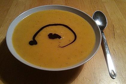 Butternuss-Kürbissuppe
