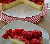 Erdbeer-Käsekuchen-Schnitten (Bild)