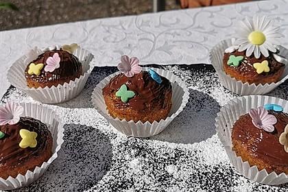 Schokoladen-Rum-Muffins (Bild)