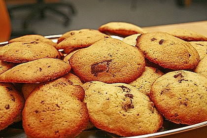 Double-Chocolate Chip Cookies 12