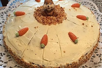 Karottenkuchen, Rüblikuchen oder Möhrenkuchen 309