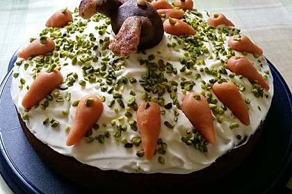 Karottenkuchen, Rüblikuchen oder Möhrenkuchen 207