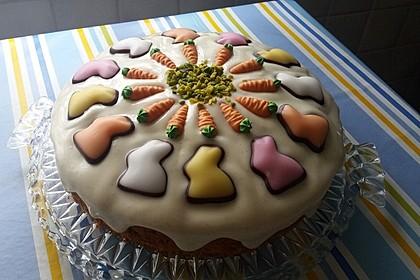 Karottenkuchen, Rüblikuchen oder Möhrenkuchen 30