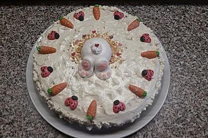 Karottenkuchen, Rüblikuchen oder Möhrenkuchen 311