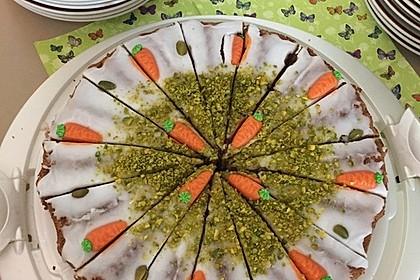 Karottenkuchen, Rüblikuchen oder Möhrenkuchen 211